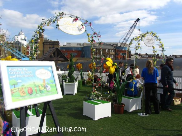 lindt gold bunny easter egg hunt london