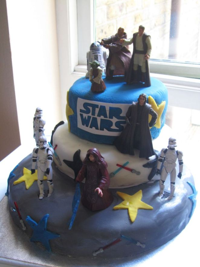 star wars cake 3-Tier
