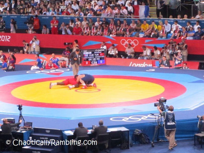 Greco Roman Wrestling 120kg Olympics London 2012