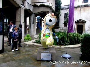 Blue Trail 12 Guildhall Wenlock