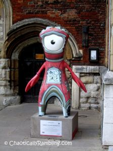 Red Trail 9 Lambeth Palace Mandeville